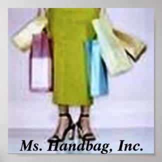 logo, Ms. Handbag, Inc. Poster