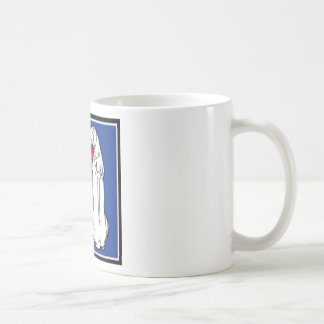 logo classic white coffee mug