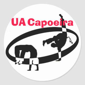 logo no text, UA, Capoeira Sticker