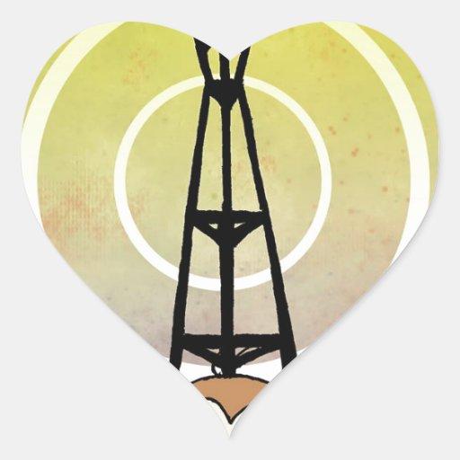 Logo of Power Heart Sticker
