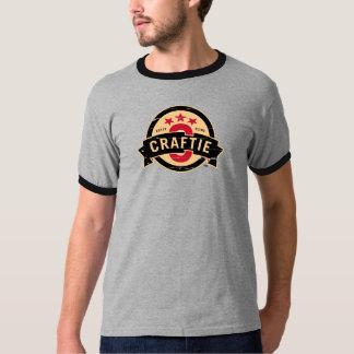 Logo on Grey / Black Ringer T-Shirt