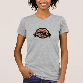 Logo on Grey T-Shirt (Ladies)