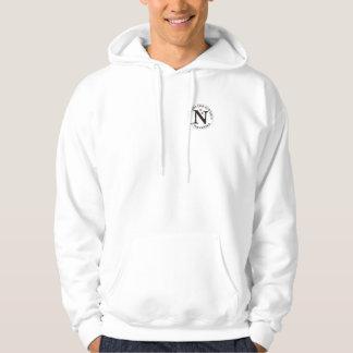 Logo on Hooded Sweatshirt