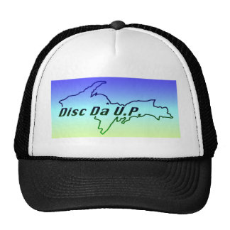 logo on random stuff trucker hat