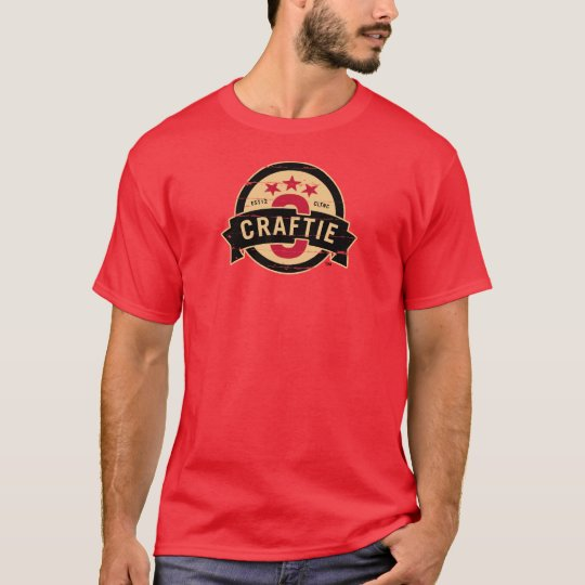 Logo on Red T-Shirt