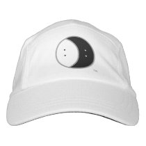 Logo only black and white hat