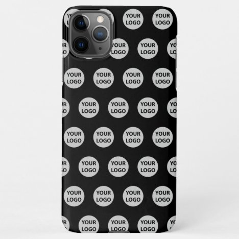Logo Pattern Simple Logo Template Black iPhone 11Pro Max Case