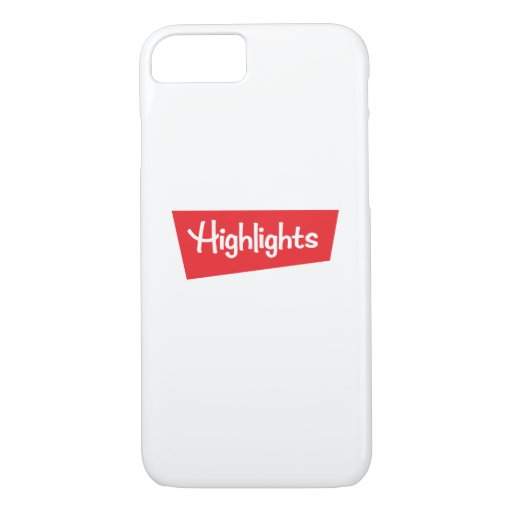 Logo Plain Phone Case