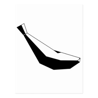 Logo Plátano Tarjeta Postal