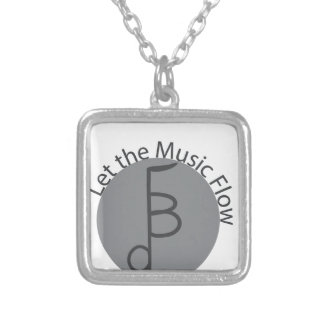 Logo Products Silver Plated Necklace
