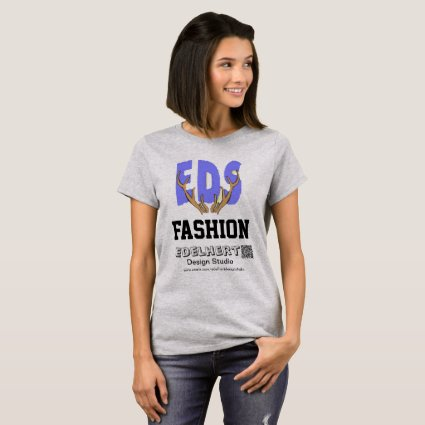 Logo & QR-Code EDS Fashion T-shirt