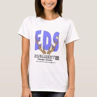 Logo & QR-Code T-Shirt Edelhert Design Studio