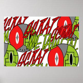 Logo Robo crazy Poster