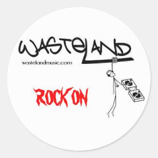 LOGO/ROCK ON STICKER