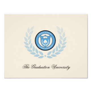 Logo School or College Graduation Announcements