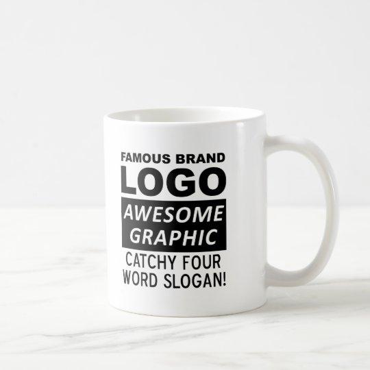 Logo Slogan Funny Mug