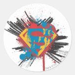 Logo Splatter Sticker
