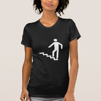 Logo stairs upward t-shirt