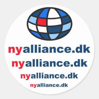 Logo Suggestion - Ny Alliance Classic Round Sticker