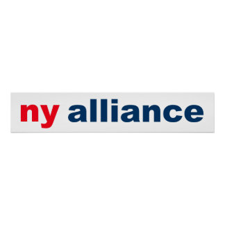 Logo Suggestion - Ny Alliance Poster