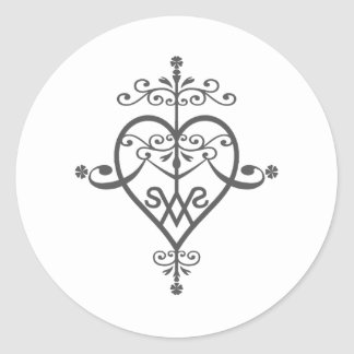 Logo Suite Yearning Classic Round Sticker