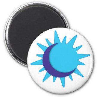 Logo Sun Only 2 Inch Round Magnet