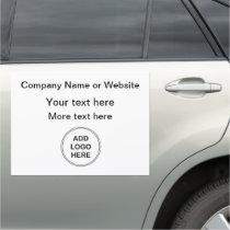 Logo Template Business Mobile Car Magnet