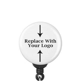 Logo Template ID Badge Holder