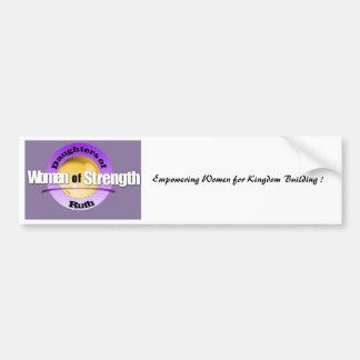 Logo Template - Logo_07a, Empowering Women for ... Bumper Sticker