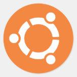 Logo Ubuntu Adesivo