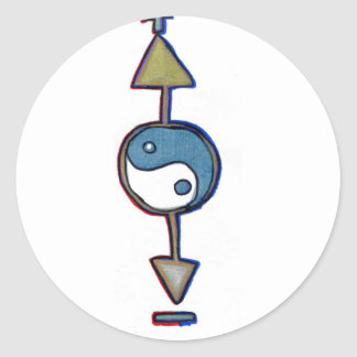 Logo Universalis Round Stickers