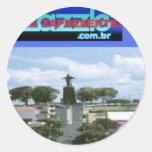 logo.v2.zazzlecombrWSSA Adesivo Redondo