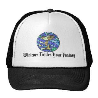 LOGO - Whatever Tickles Your Fantasy Trucker Hat