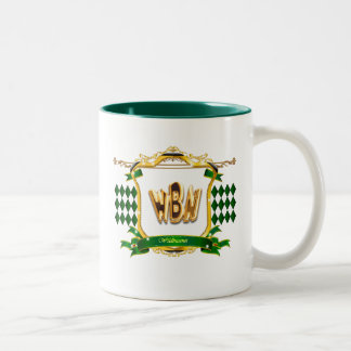 Logo wildbussnet Two-Tone coffee mug