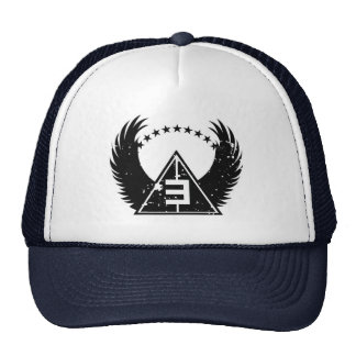 Logo Wings Vintage Final Transparent - Customized Trucker Hat