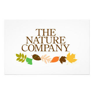 Logo with leaves stationary stationery paper