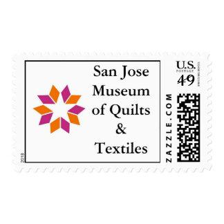 Logo Zazzle, San Jose Museum of Quilts & Textiles Postage