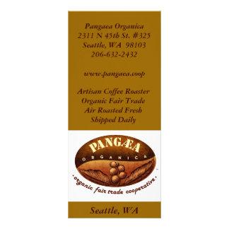 logobig, Artisan Coffee RoasterOrganic Fair Tra... Rack Cards