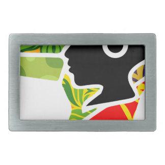 logoo rectangular belt buckle