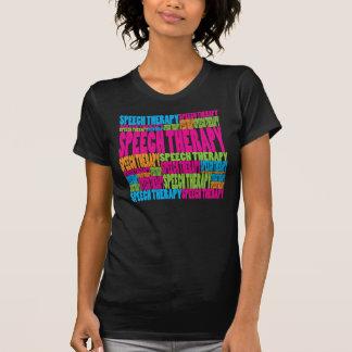 Logopedia colorida camisetas