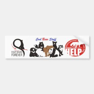 Logos by 8Bearsforever.com Bumper Sticker