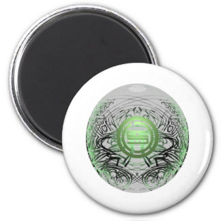 logosphere 2 inch round magnet