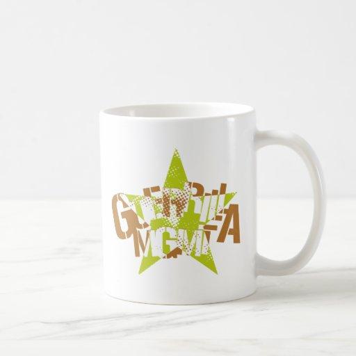 Logotipo 12 de la gestión de la guerrilla taza de café