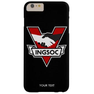 Logotipo 1984 de INGSOC Funda De iPhone 6 Plus Barely There