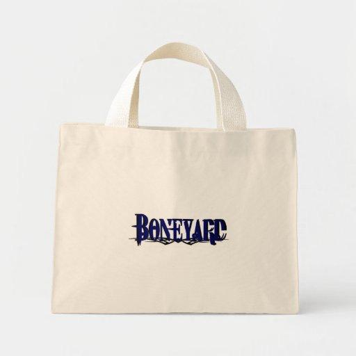 Logotipo 1 de Boneyard Bolsa De Tela Pequeña