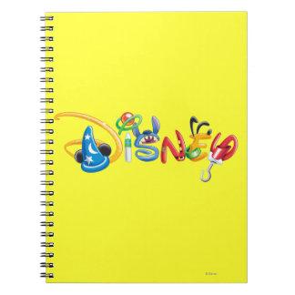 Logotipo 1 de Disney Libro De Apuntes