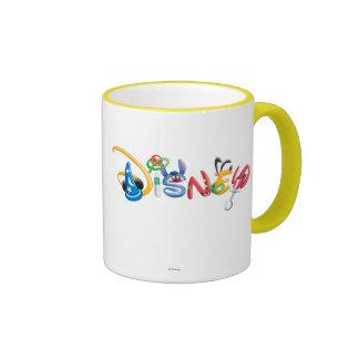 Logotipo 1 de Disney Taza A Dos Colores