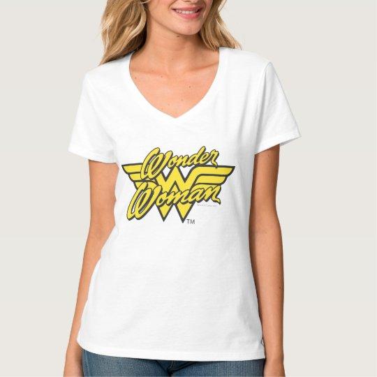 Logotipo 1 de la Mujer Maravilla Playera