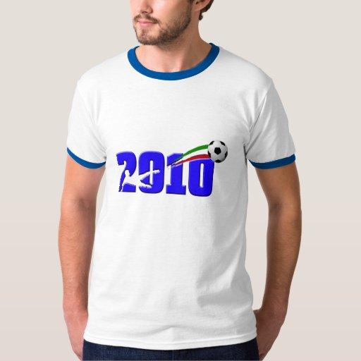 Logotipo 2010 de Azzurri del fútbol de Italia Playera
