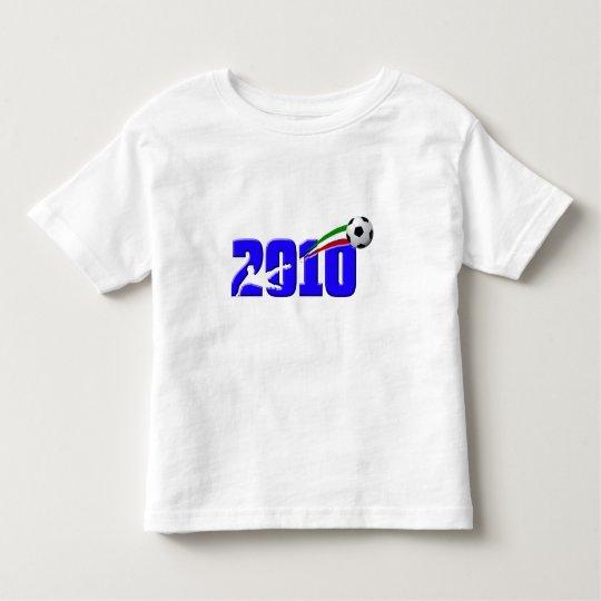 Logotipo 2010 de Azzurri del fútbol de Italia Playera De Bebé